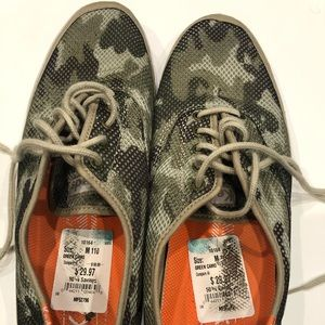 Keds Green Camo Size 11 Men's